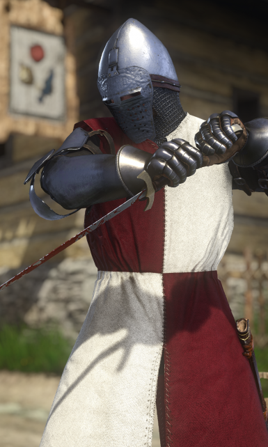 4K Textures for Waffenrock Clothing
