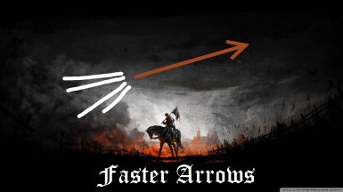 Faster arrows