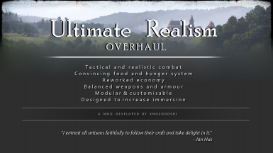 Ultimate Realism Overhaul