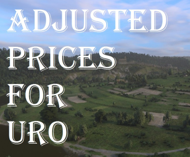 Adjusted prices for Ultimate Realism Overhaul