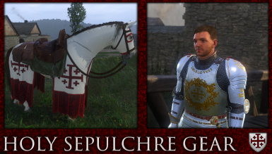 Holy Sepulchre Gear  - Texture Replacement Gold Version - Updated and rebalanced