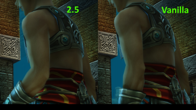 Party and Guest Re-Upscaled Textures