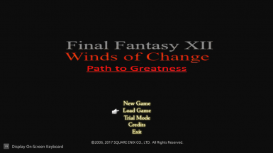 Final Fantasy XII Path to Greatness