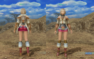 Ashe Shows More Thigh and Outfit Recolors v2 (Specular Maps Added)