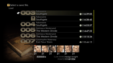 FF XII Zodiac Age PC Master Save Files