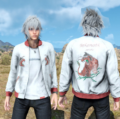 Change Noctis Hair Eyes Shirt  Outfit color