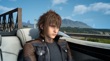 Noctis - Brown Hair Re-texture (Young and Old)