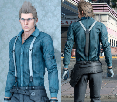 Blue Casual Ignis