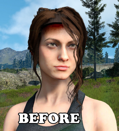 Comrades and Avatara female hair mod shadow fix