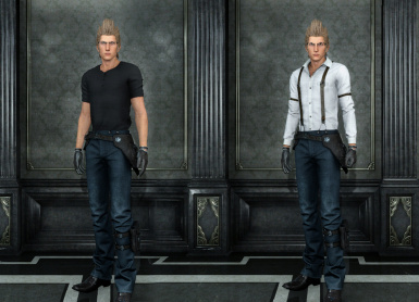 Simple outfit Ignis