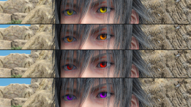 Alternate eye colours (Noctis)
