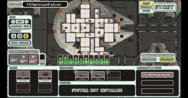 The Federation Falcon (Millenium Falcon)