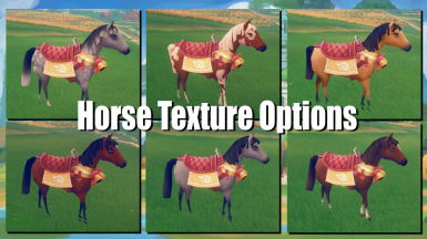 Horse Texture Pack for Custom Textures