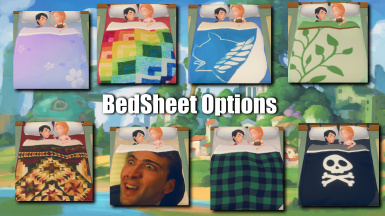 Bed Sheet Options for Custom Textures