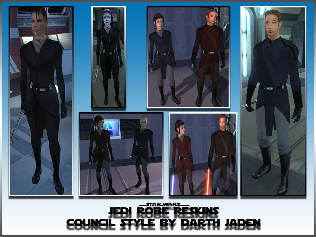 Jedi Robe Reskins Council Style at Knights of the Old ...
