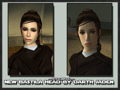 New Bastila Head