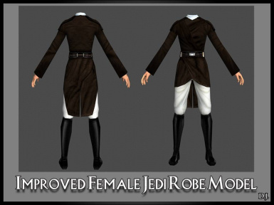 Improved Female Jedi Robe Model at Knights of the Old Republic Nexus - Mods and community  sc 1 st  Nexus Mods : female jedi costume  - Germanpascual.Com