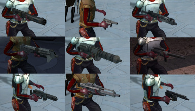KoTOR Weapon Model Overhaul
