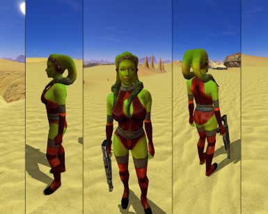 Quanons Twilek Outfits