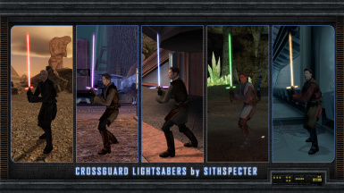 Crossguard Lightsabers