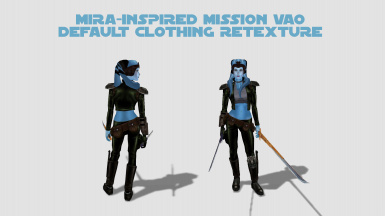 Mira-inspired Mission Vao Default Clothing Reskin