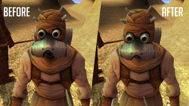 Tusken and Jawa HD - 4X Upscaled Texture