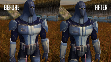 Mandalorian Armor and Rakata HD - 4X Upscaled Texture