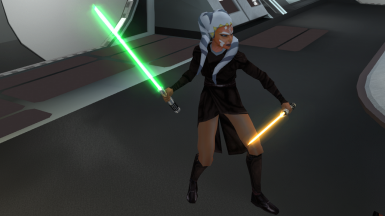 Ahsoka Tano and Boc Aseca