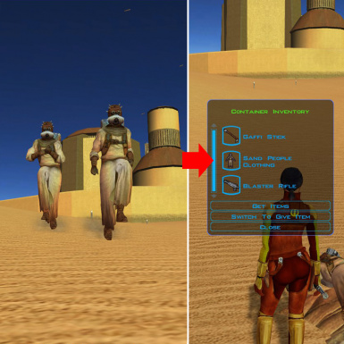 Sandpeople Disguise Drop Fix