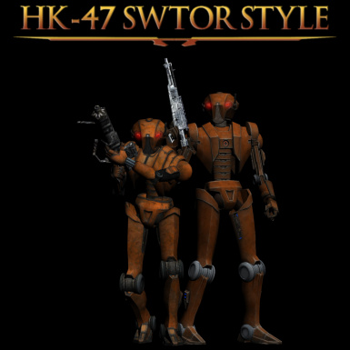 HK-47 SWTOR-Style