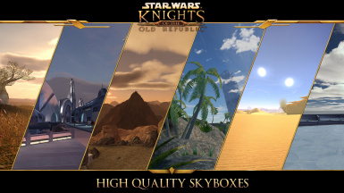 High Quality Skyboxes