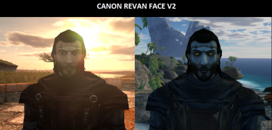 Revan Canon Face With And Without Scars V2 2018