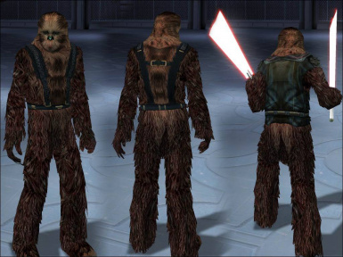 Playable Wookiees 1of4 (Brown)