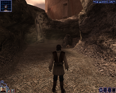 The Prodigal Knight Reshade at Knights of the Old Republic