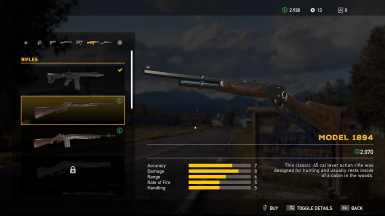Better Weapon and Vehicle Names