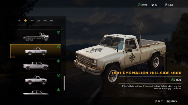 Cult vehicles in store