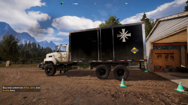Replaced cult cargo truck color