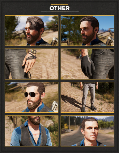 Appearance Mods For John Seed At Far Cry 5 Nexus Mods And Community