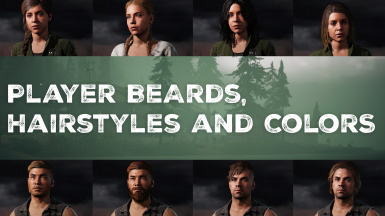 Player Beards Hairstyles and Colors