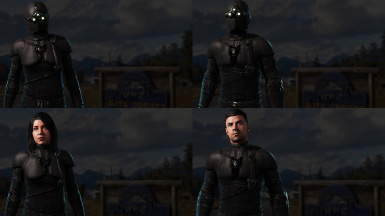 New Dawn Sam Fisher outfit