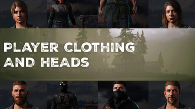 Player Clothing and Heads