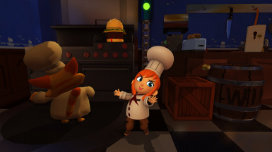 Nick's Costumes Pack - Cooking Cat's here