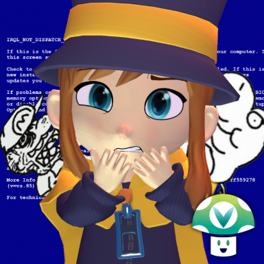 Hat Kid Kup Terazes a Vinesauce Spaghetti and then eats her arms with it