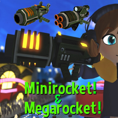 Minirocket and Megarocket weapon mod
