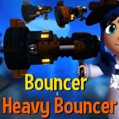 The Bouncer and Heavy Bouncer weapon mod