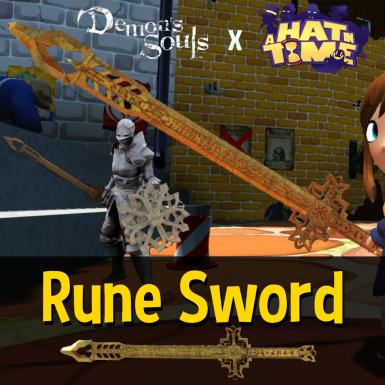 Rune Sword Weapon mod