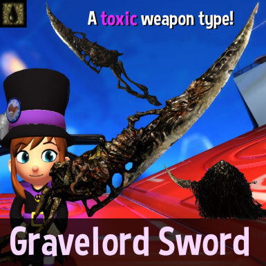 Gravelord Sword Weapon Mod