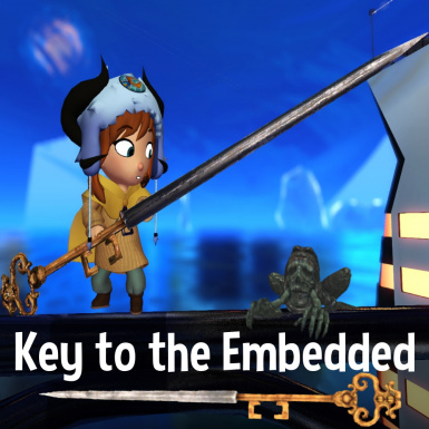 Key to the Embedded weapon mod