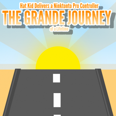 Hat Kid Delivers a Ninktonto Pro Controller - The Grande Journey of a Lifetime