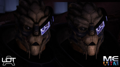 Garrus comparison 3 ALOT Curation vs MEUITM installer